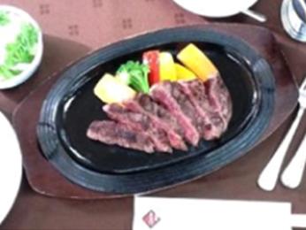 宮崎牛鉄板ステーキガーリックソース