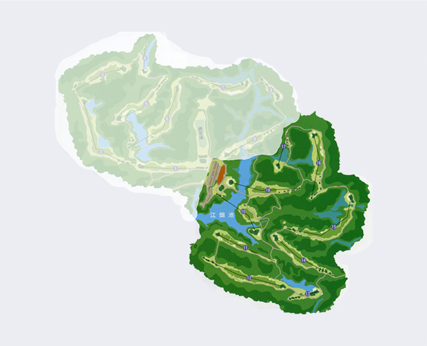 江畑池インコース