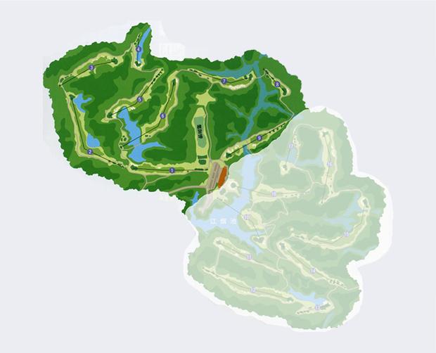 江畑池アウトコース